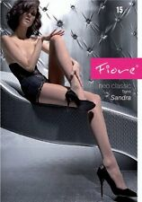 "Fiore Classic ""Sandra"" Sheer Tights 15 Denier (15Den)"