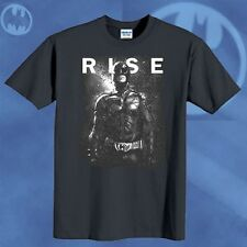 New Batman T-shirt The Dark Knight Rises Movie The End Fire Rises Tee Size S-6XL