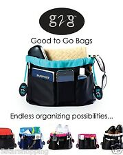 G2G Bag Organizer Great Utility Insert Tote for Purse Sports or Diaper Carry All