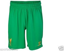 WARRIOR LIVERPOOL GOALKEEPER HOME SHORTS 2012/13 MENS 100% AUTHENTIC