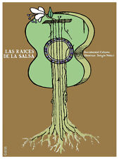 6246. Las raices de salsa Cuban documental POSTER. Wall Art Decorative.