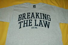 10 DEEP BREAKING THE LAW SHIRT GREY supreme crooks