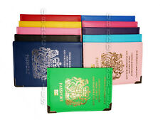 UK and European Passport Holder Cover Protector Wallet PU Leather United Kingdom