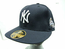 New Era 59/50 NY Yankees World Series Fitted Baseball Cap 7 1/8 1/4 3/8 1/2 5/8