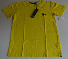 Mossimo Mens T Shirt - YELLOW - Sizes S & M - NEW
