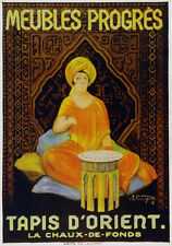 Muebles progres tapis D'orient Decoration Poster. Fine Graphic Art Design. 3089