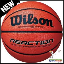 Wilson Reaction Indoor / Outdoor Competition Basketball Size 5 , 6 , 7 NEW