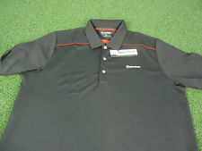 ^NEW^ MENS TAYLORMADE BY ASHWORTH PERFORMANCE GOLF SHIRT (BLACK) PICK YOUR SIZE