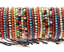 SALE! New! Southwestern Style Beaded Bracelet Adjustable Sizing Several Colors!