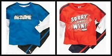 * NWT NEW BOYS 2PC PUMA SHIRT PANTS WINTER OUTFIT SET 12M 18M 24M