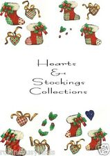 Hearts & Stockings collection  Scrapbooking Embellishments Christmas Holiday