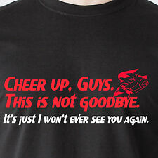 This is not goodbye Its just I wont ever see you again naked retro Funny T-Shirt