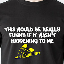This would be really funny, if it wasnt happening to me fall retro Funny T-Shirt