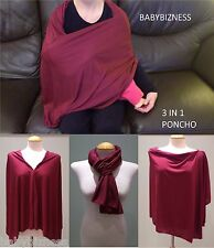BABY BIZNESS NURSING/BREASTFEEDING PONCHO....COVER UP