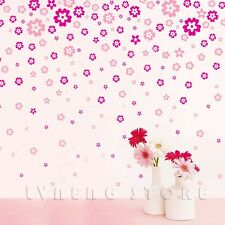 Wall stickers Art Deco 65 Whole Flowers Change 130 Flowers DIY Decorate Home