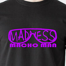 Macho Man ymca wrestling band sing wwe wwf wcw tna vintage retro Funny T-Shirt