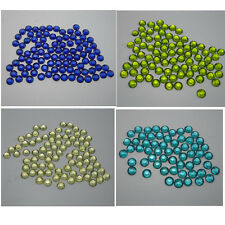 Lots colors 5000pcs Multiple facets Resin 4/5mm Flat Back Rhinestones SS16/20 05