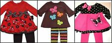 * NWT NEW GIRLS 2PC RARE EDITIONS CUPCAKES WINTER OUTFIT SET 3/6 6/9 12M 18M 24M