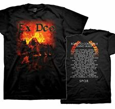 "Ex Deo ""Road To Conquer- 2010 Tour Dates"" Double Sided T-Shirt - FREE SHIPPING"