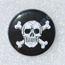 L10 - Jolly Roger Skull Bones - Poison Sign, Motorcycle Club Design Skeleton