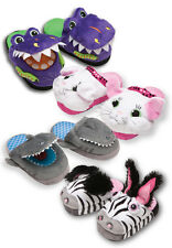 New Silly Slippeez Glow In The Dark Slippers Pop To Life When You Walk Skip Jump