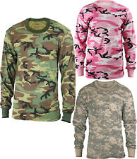 Kids Camouflage Long Sleeve Military T-Shirt
