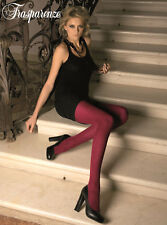 Trasparenze Gennifer Tights Merino Wool Opaque Matte Sheer Womens Hosiery New