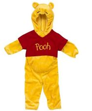 NWT infant Disney WINNIE the POOH Costume Dress Up Size 6 9 12  Mo Baby hood