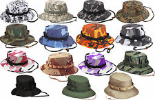 Camouflage Military Wide Brim Bucket Camping Hunting Jungle Hat