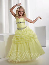 Discount Tiffany 13336 Pageant Dress / Flower Girl Yellow Size's 4 OR 8 NWT