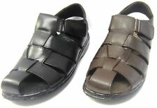 MEN'S LEATHER SUMMER SANDALS ( MOZA-X B-207814)