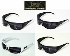 LOCS Dark Smoke MOTORCYCLE Biker Sunglasses Cheap