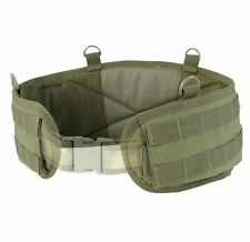 CONDOR MOLLE Tactical Nylon Support BATTLE BELT 241 S,M,L OD Olive Drab Green