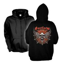 Kapuzenjacke Outlaw From Hell - Wing Skull, Hoodie S - 6XL (ADS00924)