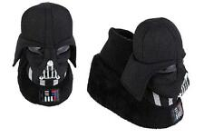 NWT Toddler Boys Girls STAR WARS DARTH VADER Slippers SIZE 7/8  9/10 Face sock