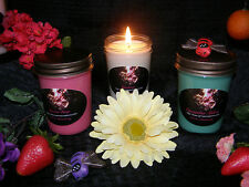 8oz Highly Scented 100% All Natural Soy Wax with Eco wicks