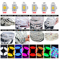 Waterproof Super Bright 5M 3528 5050 SMD 300/600 LED Flexible Strip light 12V US