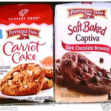 Pepperidge Farm Soft Baked Dessert Shop Cookies Holiday & Limited ~ Pick One