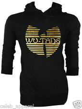 NWT Wu-Tang Clan Hip hop RZA GZA Blackout! The W DJ Funky  Hoodie Jumper S,M,L