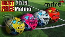 NEW 2013 MITRE MALMO TRAINING FOOTBALL BALL - ALL COLOURS - SIZES 3,4,5