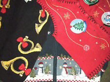 Ugly Christmas Sweaters, Vests, Choice of Style and Size S, XL, 1X More to come!