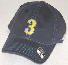 NBA Denver Nuggets #3 Allen Iverson Gray Fitted Slouch Hat By adidas