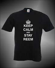 KEEP CALM AND STAY REEM -  TOWIE THE ONLY WAY IS ESSEX MENS FUNNY T-SHIRT