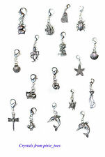 Cute Clips, Charms or Pendants - Animal Theme, Many Designs to Choose from!