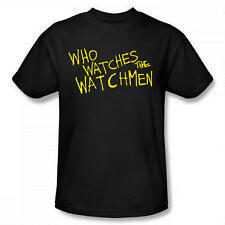 WATCHMEN WHO WATCHES THE T SHIRT NEW OFFICIAL FILM