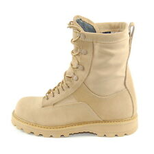 Temperate Weather Combat Boots. Waterproof-Breathable Liner