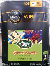 Keurig Vue Packs Barista Prima Coffeehouse Green Mountain Coffee ~ Pick One