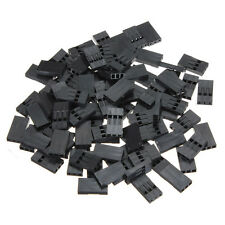 100pcs 2 3 4 5 6P Jumper Wire Cable Housing Female Pin Connector 2.54mm Pitch