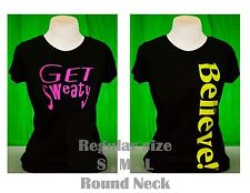 Women shirt workout  Fitness Aerobics zumba yoga, Gym clothing, plus size