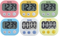 TANITA Digital Kitchen Cooking Timer TD-384 Alarm Count Up Down from JAPAN